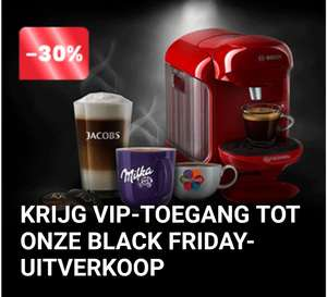 Tassimo early Black-Friday korting
