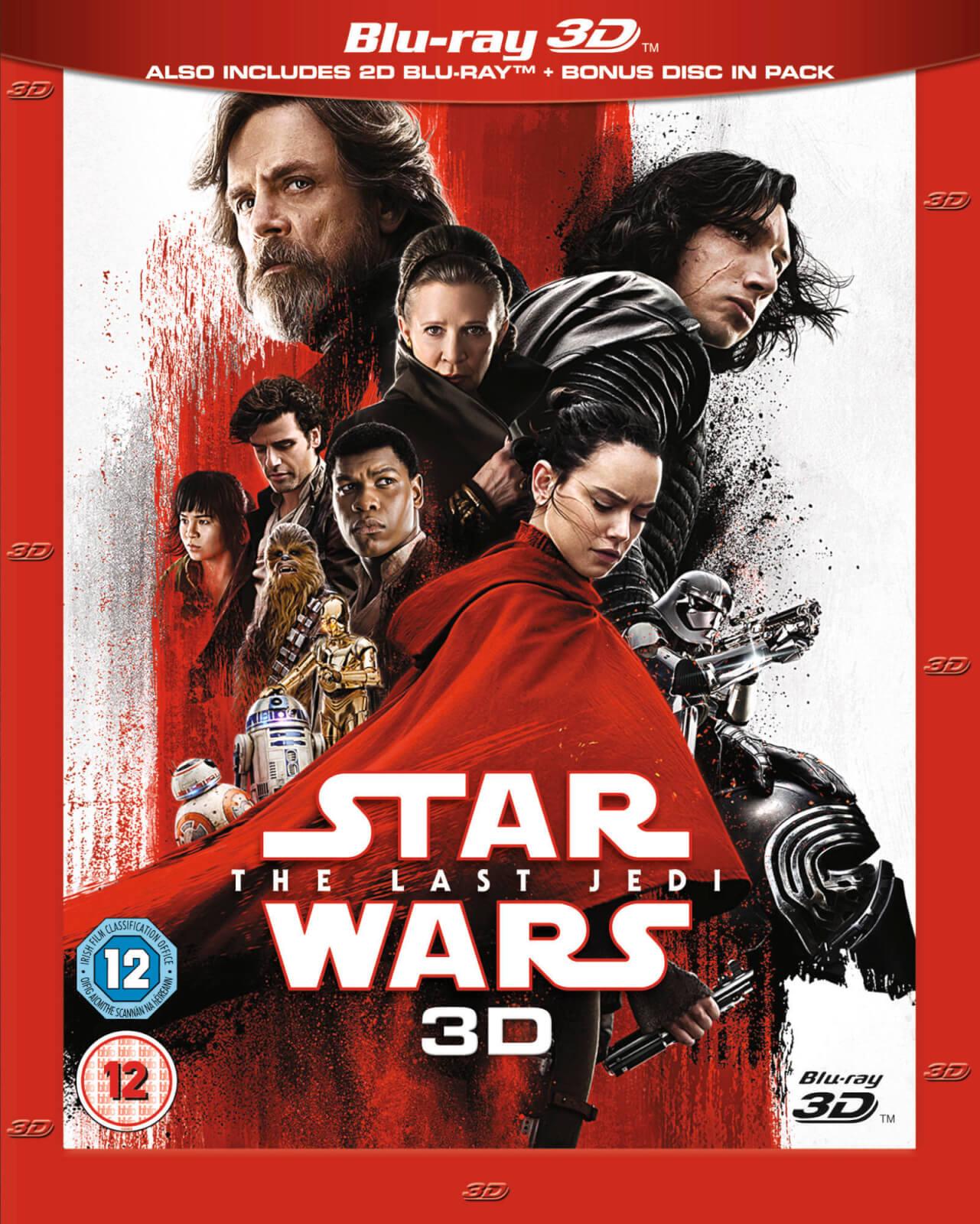 Star Wars: The Last Jedi 3D Blu-ray (Incl. 2D versie)