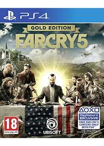 Far Cry 5 Gold Edition (incl Season Pass & Far Cry 3) voor €40 @Base