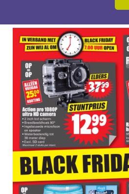 Action pro 1080p ultra hd waterproof sportcamera DIRK