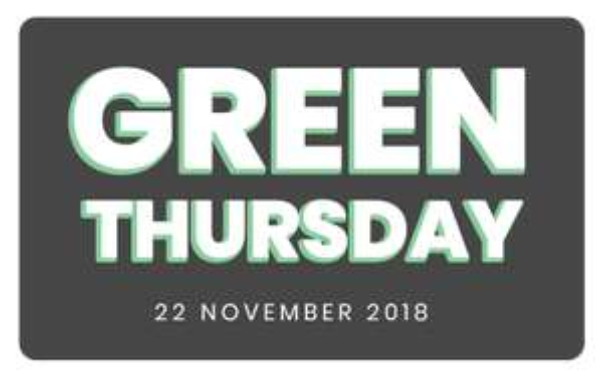 22 November: Green Thursday kortingen @ Afterpay