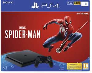 [Black Friday] PlayStation 4 Slim 1 TB + Spider-Man + 2 controllers voor €289,99 @ Intertoys