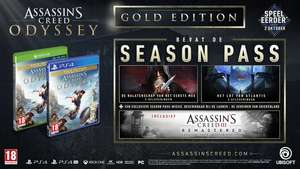 [Black Friday]  Assassin's Creed Odyssey Gold Edition voor €48 @ Ubi Store