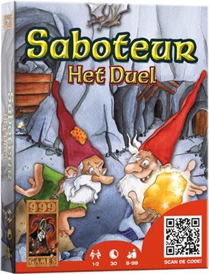 [BE]  999 Games Saboteur Het Duel