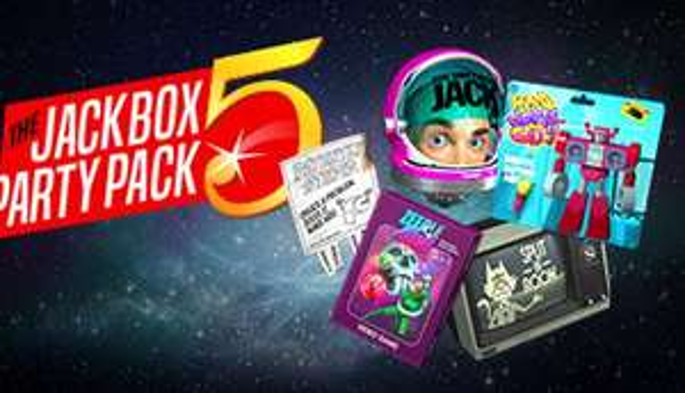 Jackbox Party Pack 5 met 25% korting (steam/windows/linux)