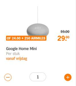 Google Home mini @Albert Heijn