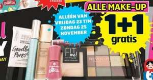 Alle make-up 1+1 bij Trekpleister aankomend weekend