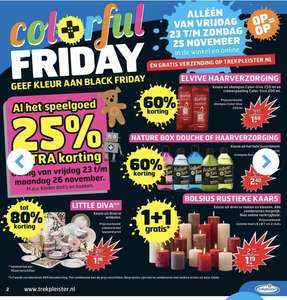 Colorful friday bij de trekpleister