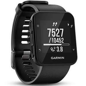 Garmin Forerunner 35 GPS-hardloophorloge, hartslagmeting via de pols, Smart Notifications, hardloopfuncties, zwart, universele maat