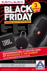 JBL speakers op black friday bij aldi