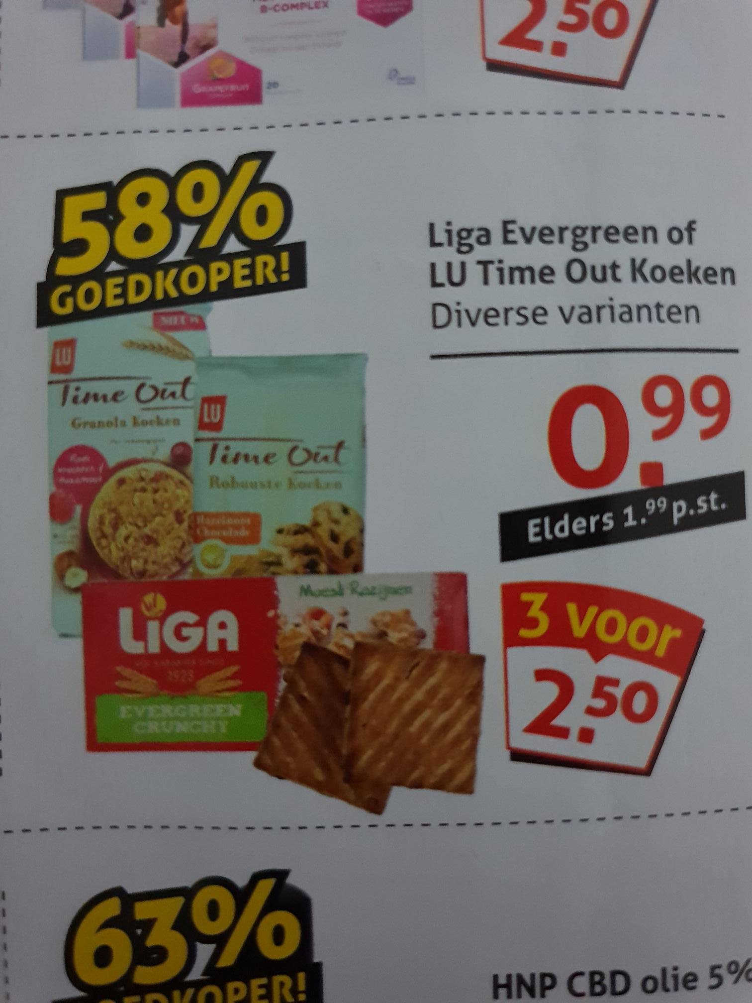 LU Time Out Cookies €0,99 @Op=Op