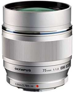 Olympus M.Zuiko 75mm 1.8 lens @Amazon.de