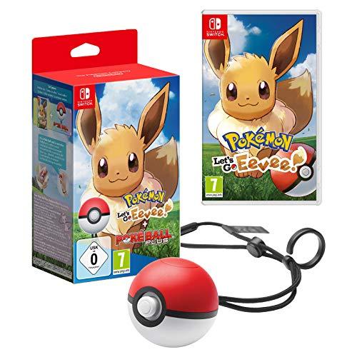 Pokemon Let's Go Eevee  + Poke Ball Plus Bundle @ Amazon.fr