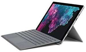 Microsoft Surface Pro 6 (Intel Core i5, 8 GB RAM, 128 GB SSD) + Typecover @Amazon.co.uk