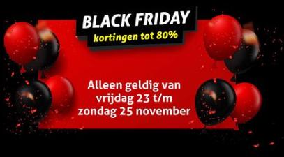 Black Friday korting tot 80% bij Op=Op voordeelshop