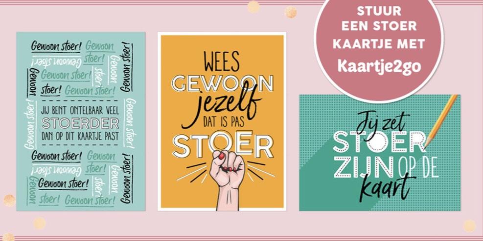 Gratis 'Gewoon stoer' kaartje versturen via Kaartje2Go