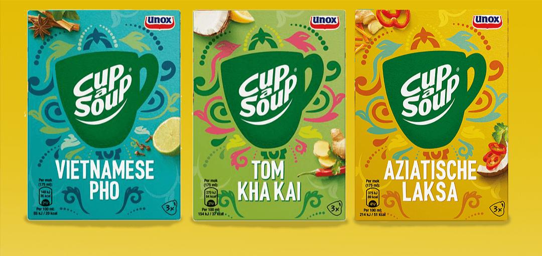 Gratis cup a soup Aziatisch via Scoupy
