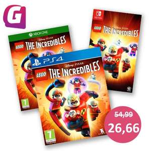 Lego The Incredibles (PS4/XB1/Switch) voor €26,66 @ Game-Outlet