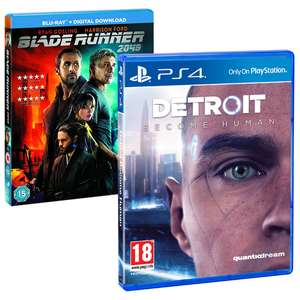 Detroit: Become Human PS4 + Blu-ray Blade Runner 204 voor €17,85 @ ShopTo