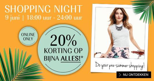 Shopping Night met 20% korting op alles @ Douglas