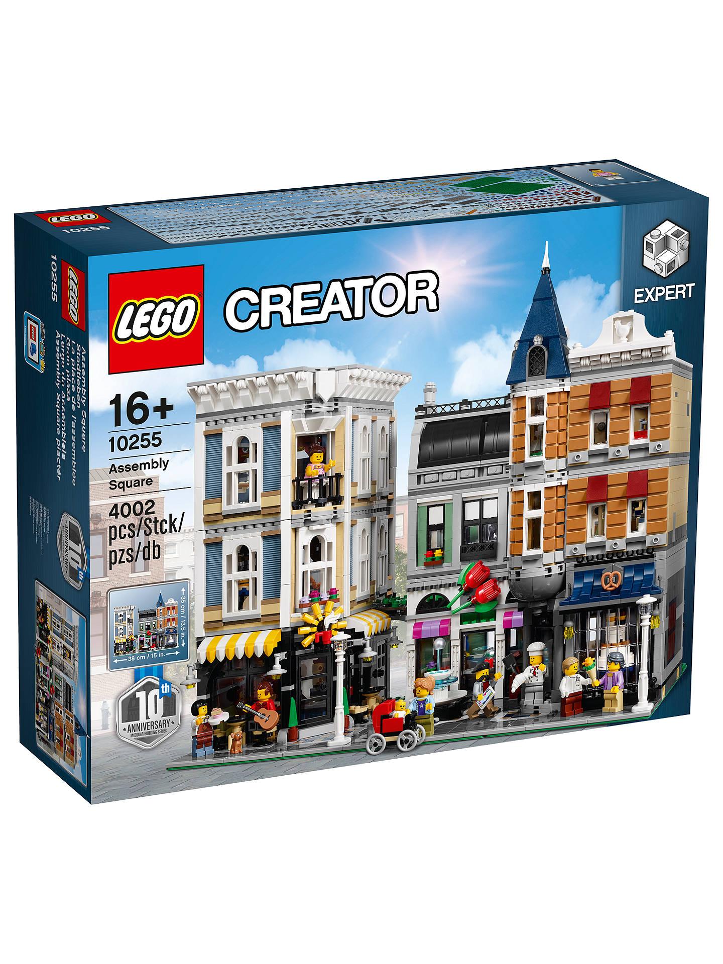 LEGO 10255 Assembly Square @ John Lewis (UK)