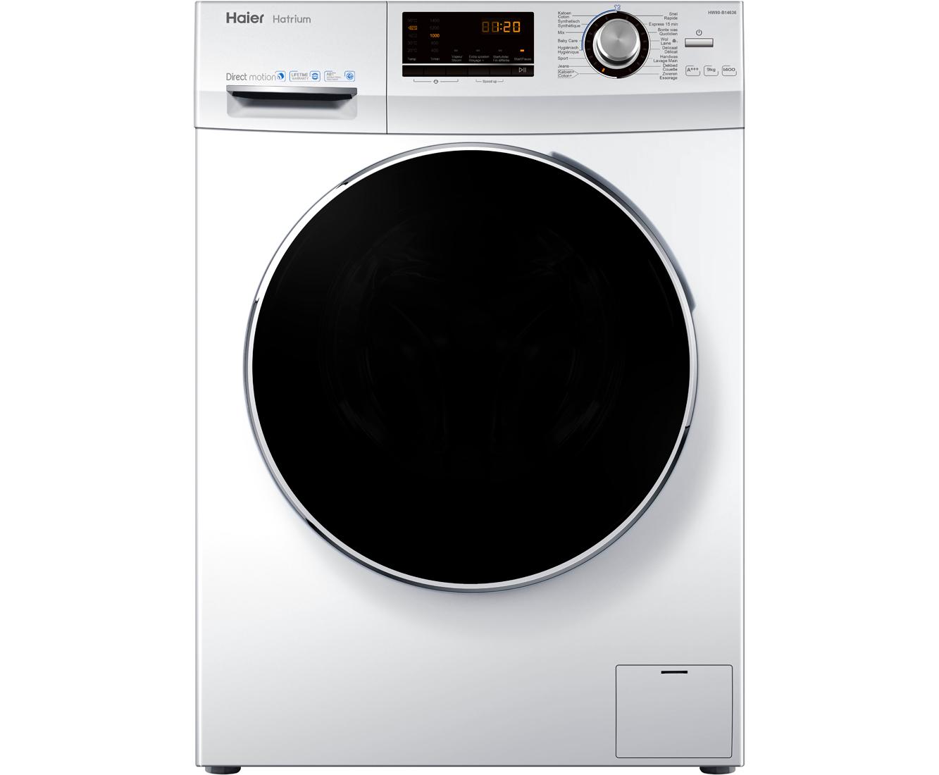 [Black Friday] Haier HW90-B14636 wasmachine voor €329 (na cashback) @ AO