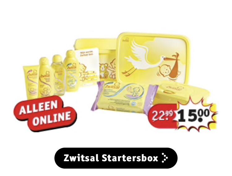 Zwitsal startersbox