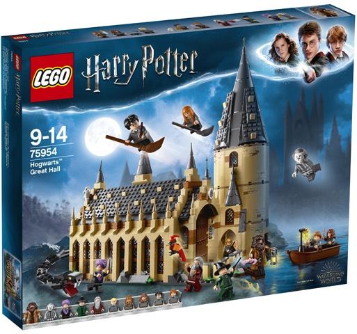 LEGO Harry Potter De Grote Zaal van Zweinstein - 75954 Bol.com