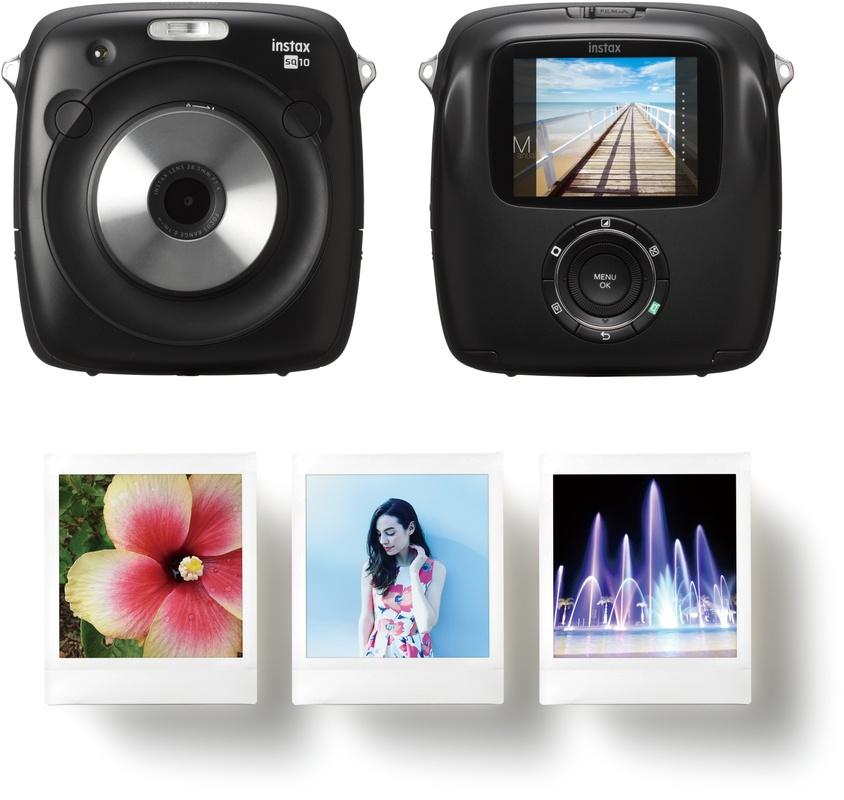 Meerdere Camera Deals, zoals de Fujifilm Instax SQUARE SQ Hybride10 instant camera