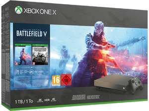 Xbox One X + 1 Game bundel  (forza horizon 4, Battlefield 5, PUBG, Shadow of the Tomb Raider of Fallout 76) *grensdeal*