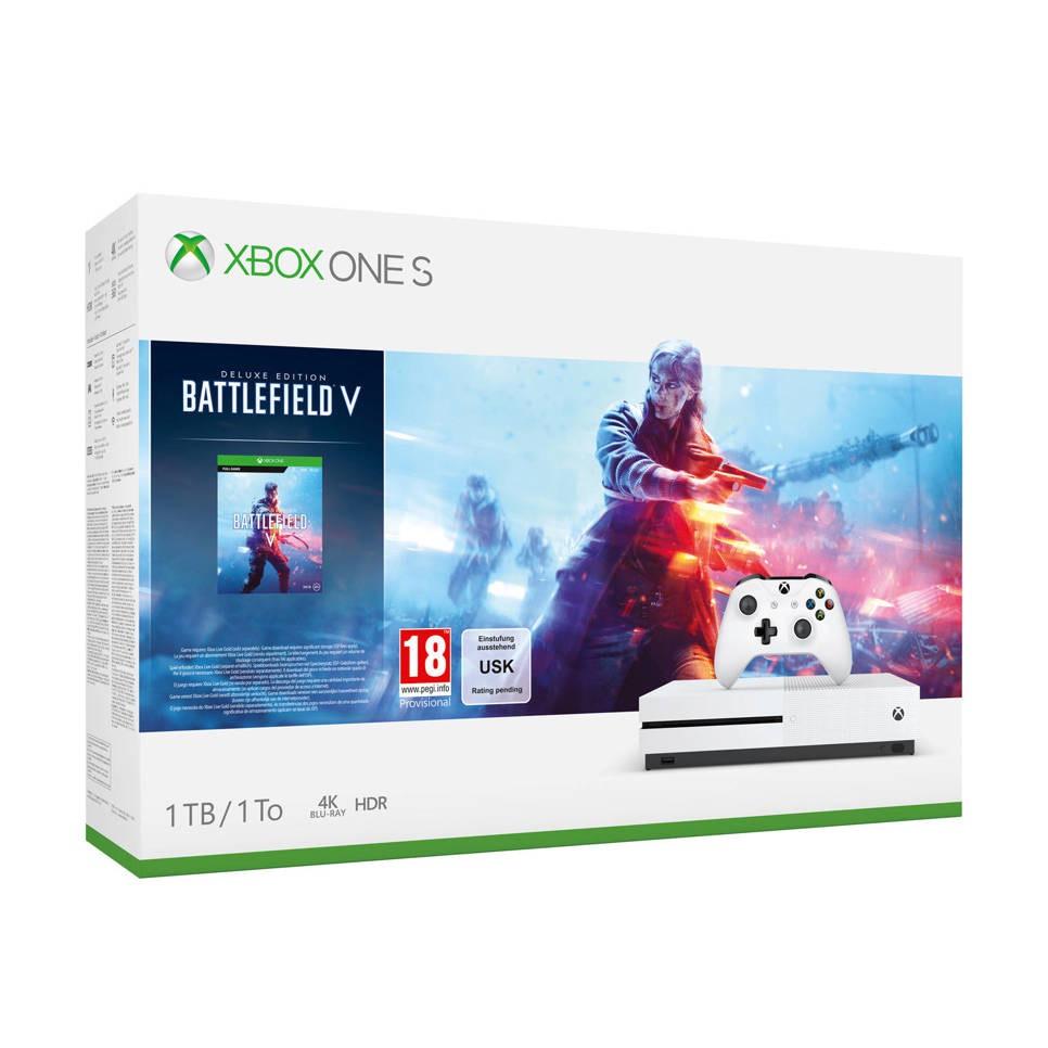 Xbox One S 1TB - Battlefield V bundel