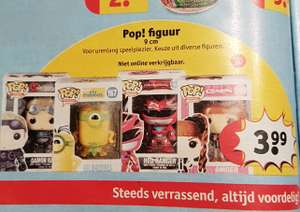 Funko pop figuren €3.99 @kruidvat