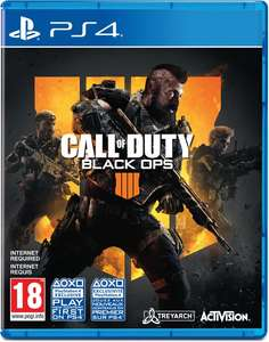 Call of Duty: Black Ops 4 PS4/XBox One + 5 euro bol.com cadeaubon  € 41,-