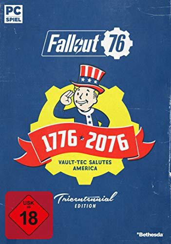Fallout 76 Tricentennial Edition (Code in a Box PC) voor 30,52 @ Amazon.de