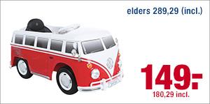 Volkswagen bus accuvoertuig voor €180,29 incl. btw @ Makro