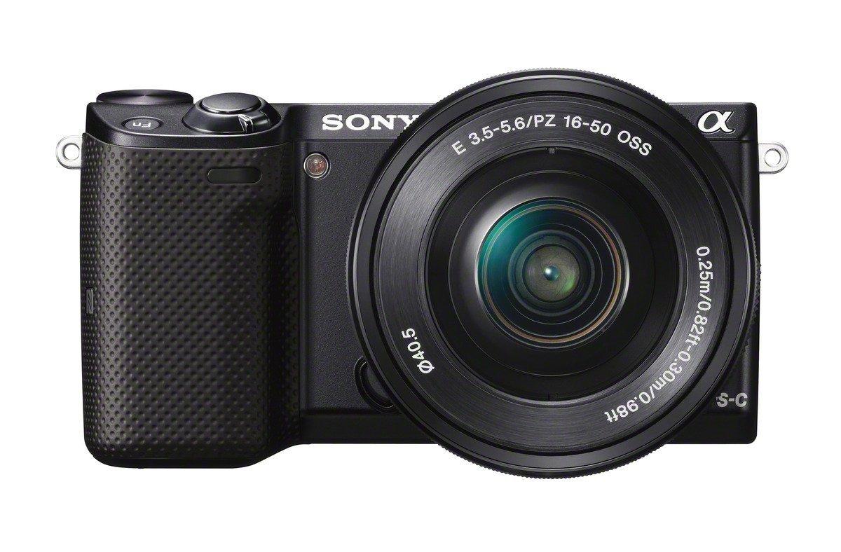 Sony NEX-5T + 16-50mm (Zwart) voor € 362,35 @ Amazon.co.uk