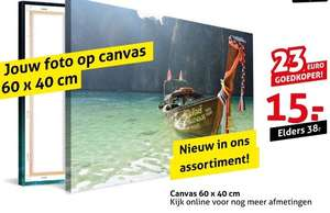 Op black friday Canvas 60x40