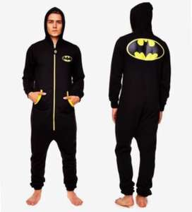 Officiële DC Comics Batman jumpsuit / onesie (of superman) @sportspar.de