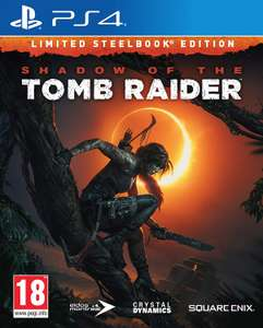Shadow of The Tomb Raider - Steelbook Edition (voor zowel PS4 als Xbox One)