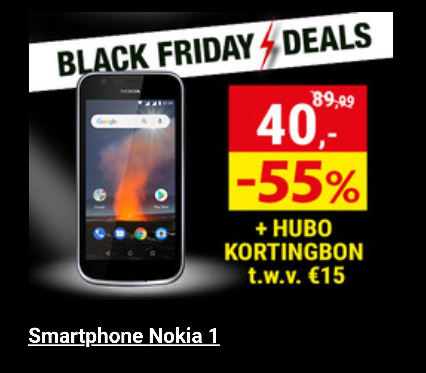 Nokia 1 aan 25 euro black friday