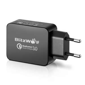 BlitzWolf BW-S5 18W USB Charger Qualcomm QC3.0 Certified @Banggood