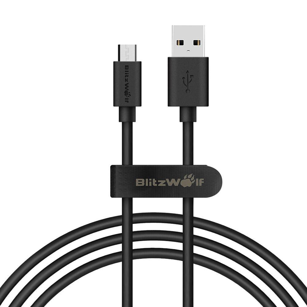 BlitzWolf 0.9m Micro USB Data kabel