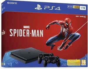 Playstation 4 Slim 1TB + Spiderman + extra DualShock 4
