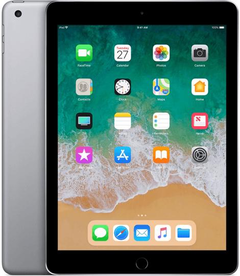 iPad 2018 32GB spacegrey voor €301,29 @Makro