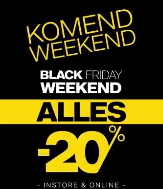 Black Friday: Van Haren 20% korting op alles! Winkel+online