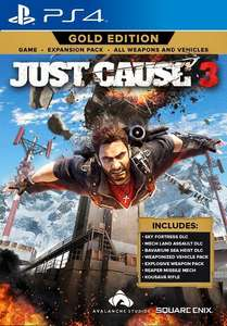 Just Cause 3 Gold Edition (PS4/XB1) voor €9,99 @ Square Enix Store