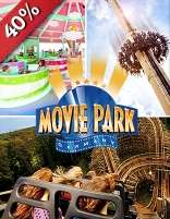 Entreetickets Movie Park Germany voor €22,20 @ SocialDeal