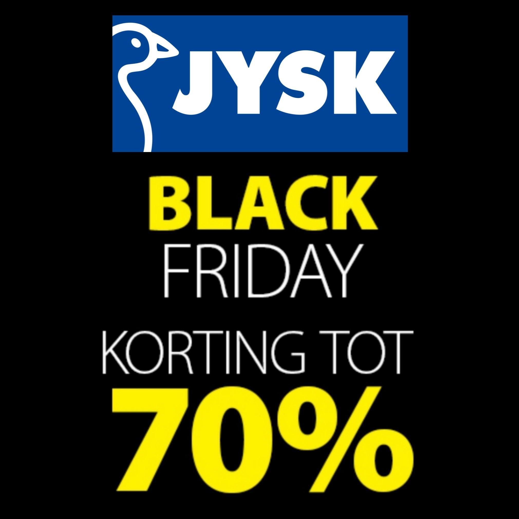 JYSK tot 70% Black Friday korting!