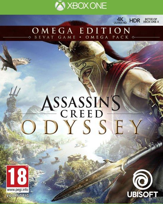 Assassins Creed Odyssey Omega edition Xbox one + gratis steel box @ bol.com