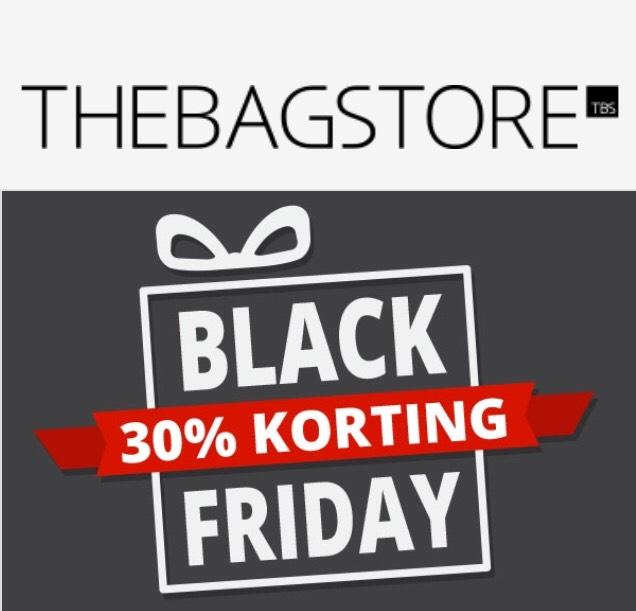 [Black Friday] 30% korting op alles The Bag Store (ook op al afgeprijsde artikelen)    The Bag Store